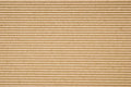 Cardboard corrugated pattern background horizontal Stock Photo