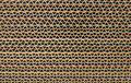 Cardboard cross section close up textured effect Royalty Free Stock Photos