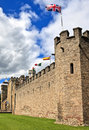 Cardiff castle in wales united kingdom uk Stock Photos
