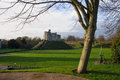 Cardiff castle the yard of wales uk Royalty Free Stock Photography