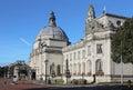 Cardiff city hall Royalty Free Stock Photo