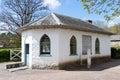 CARDIFF/UK - APRIL 19 : Tollhouse at St Fagans National History Royalty Free Stock Photo