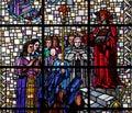 Cardinal Pierre De Berulle And Madame Acario With Carmelite Nuns