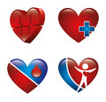 Cardiology design over white background vector illustration Stock Photography