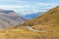 Cardrona valley scenic, New Zealand Royalty Free Stock Photo