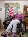 Care home Royaltyfri Foto