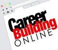 Career Building Online Website Job Seeking Classified