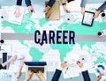 Career Job Occupation Business Marketing Concept