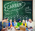 Career talent skill talent benefits occupation concept Royalty Free Stock Photos