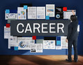 Career Tools Recruiting Profession Concept Royalty Free Stock Photo