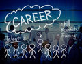 Careers Employment Job Recruitment Occupation Concept Royalty Free Stock Photo
