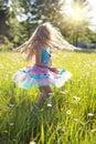 Carefree, Cheerful, Child