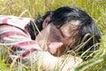Carefree sommar Fotografering för Bildbyråer
