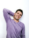 Carefree young man Stock Photo