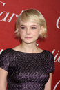 Carey mulligan the springs los angeles jan arrives at palm international film festival awards gala at palm convention Stock Photography