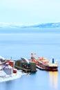 Cargo freight ship Royalty Free Stock Photo