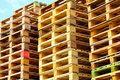 Cargo pallets Stock Photography