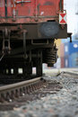 Cargo railway detail Royalty Free Stock Image