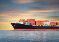 Cargo ship Royalty Free Stock Photo