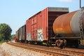 Cargo Train Stock Photography