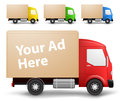 Cargo truck illustration Stock Image