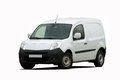 Cargo van car on white background Royalty Free Stock Photography