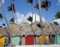 Caribbean architecture Stock Image