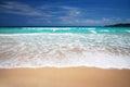 Caribbean beach beautiful empty macao Royalty Free Stock Photo