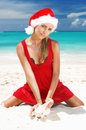 Caribbean christmas Stock Images