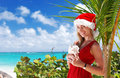 Caribbean christmas Royalty Free Stock Photo