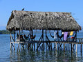 Caribbean dream sea relax landscape in the of bocas del toro panama Stock Photos