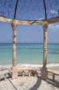 Caribbean Gazebo Stock Photo