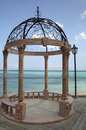Caribbean Gazebo Royalty Free Stock Photo