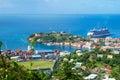 Caribbean. The Island Of Grenada. Royalty Free Stock Photo