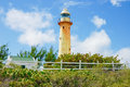 Caribbean Lighthouse Royalty Free Stock Photo