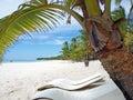 Caribbean sea Dominican Republic Island Saona Royalty Free Stock Photo