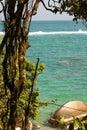 Caribbean sea. Tayrona National Park. Colombia Royalty Free Stock Photography