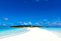Caribbean vacation in a tropical paradise Royalty Free Stock Photo