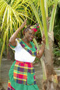 Caribbean Woman Stock Photography