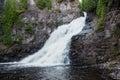 Caribou Falls Royalty Free Stock Photo