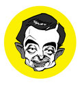Caricature series - Mr. Bean Royalty Free Stock Photo