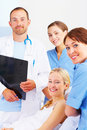 A caring profession Royalty Free Stock Photo