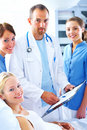 A caring profession Royalty Free Stock Image