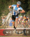 Carl Decker - USA Cyclocross Pro Royalty Free Stock Image