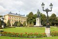 Carl johans park norrkoping sweden and statue of king karl johan charles xiv Stock Photo