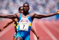 Carl Lewis Royalty Free Stock Photo