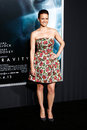 Carla gugino new york oct actress attends the gravity premiere at amc lincoln square theater on october in new york city Royalty Free Stock Photos