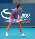 Carla Suarez Navarro, professional tennis player Royalty Free Stock Photo