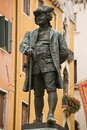 Carlo Goldoni statue, Venice Royalty Free Stock Photos