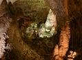 Carlsbad Caverns Rock Formations Royalty Free Stock Photo